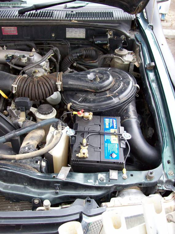 Image Of Ford Ranger Battery Relocation Post your battery relocation ...